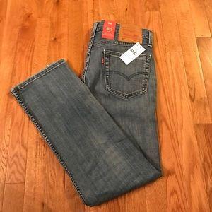 Levi 511 slim light colored jeans